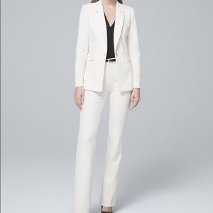 BNWT White House Black Market Luxe Suiting Set